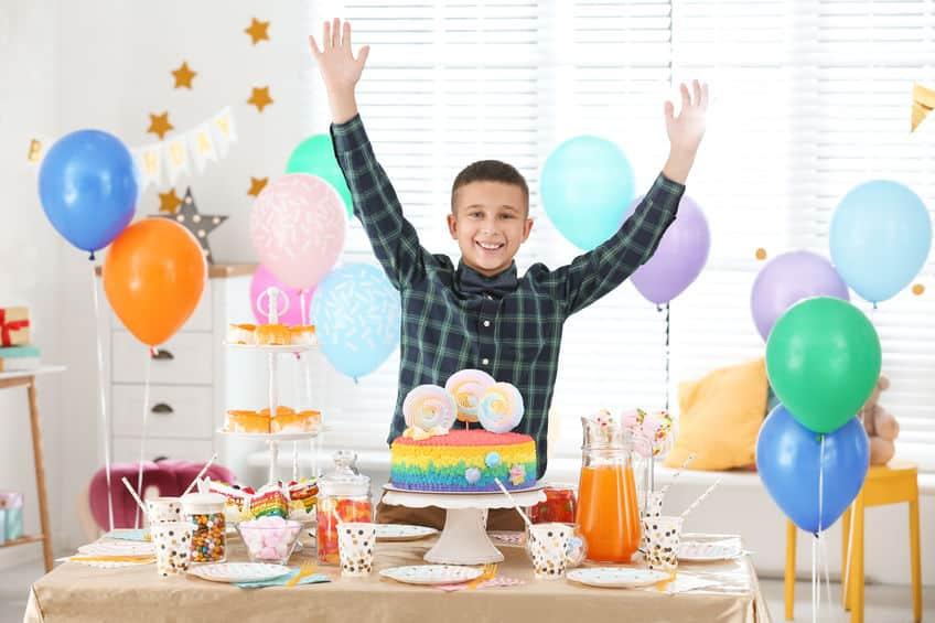 L'anniversaire d'un garçon