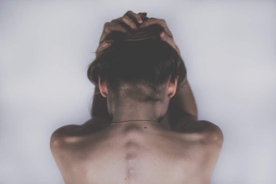 Le dos d'une femme
