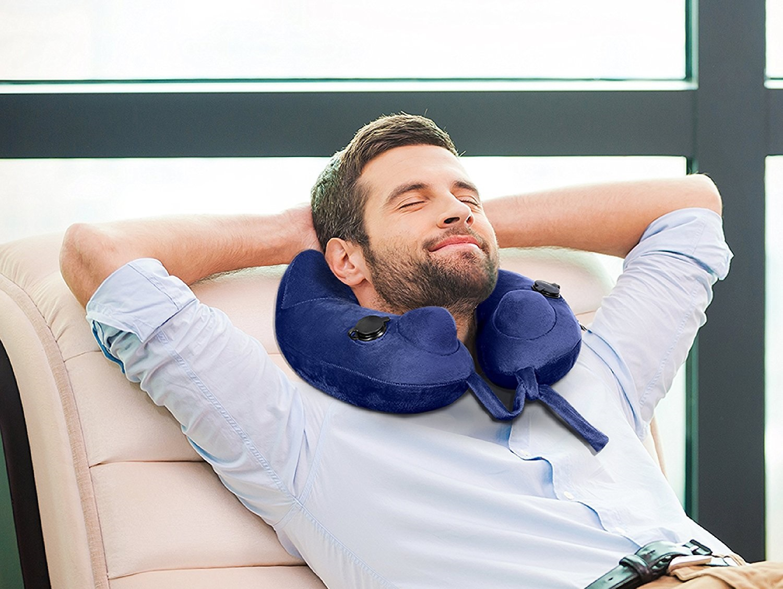 Dormir confortablement avec son coussin de voyage