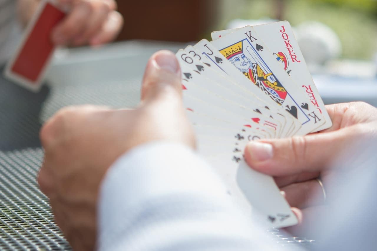 Un jeu de poker